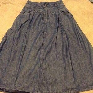"Vintage denim skirt ""Blaze"""